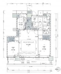 日本东京都中央区晴海高级公寓42层(48层),编号1905
