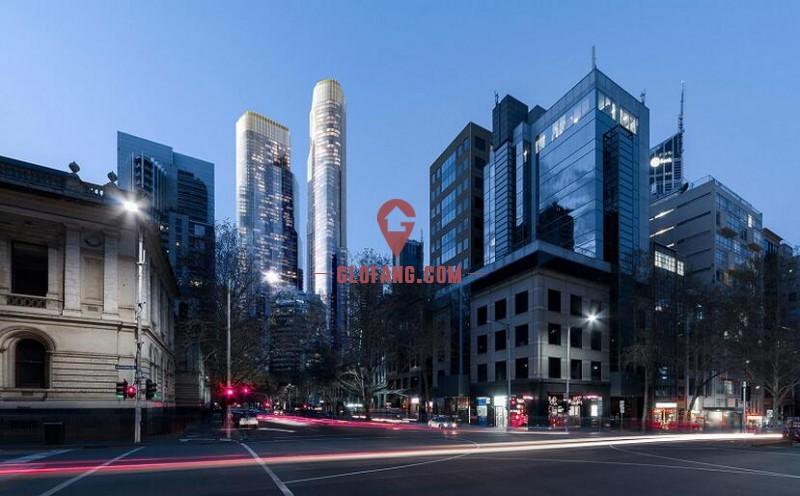 墨尔本CBD稀缺公寓:Queens Place - 双子塔