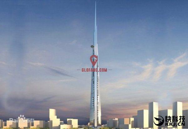 干掉迪拜塔!世界第一高楼开建