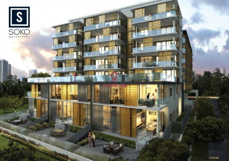 澳洲布里斯班SOKO河景公寓