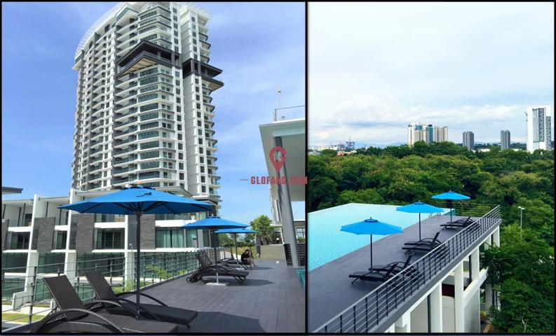 馬來西亞硅谷 科技豪宅大平顶层296平米(4+1房)
