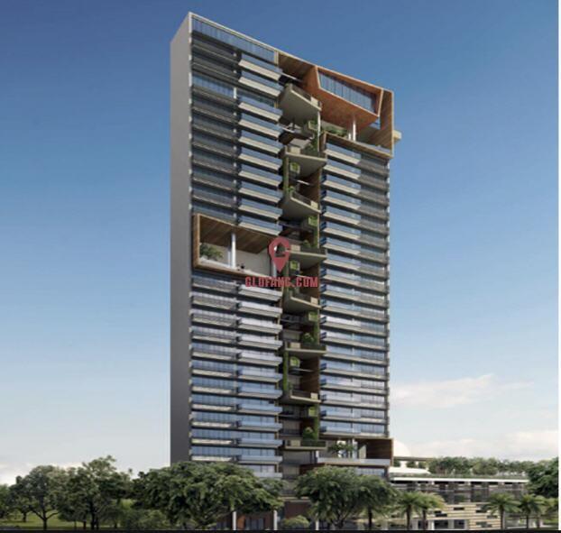 新加坡第11邮区Novena地铁附近公寓项目花郡