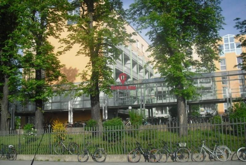 德国慕尼黑市中心学生公寓楼内的一室一卫 ID10044