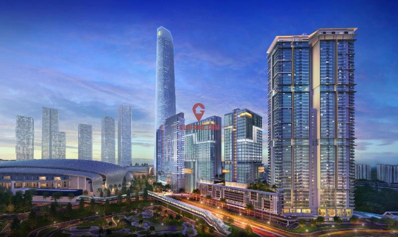 马来西亚国际贸易中心区 集学区房、地铁房优势