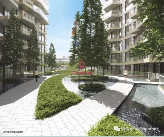 新加坡海滨豪宅项目:独一无二的高档海滨公寓,著名建筑大师手笔