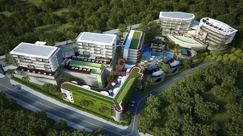 泰国普吉岛海边公寓 108万起 包租10年!,编号8509