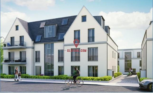 德国法兰克福现代化小区1.5室公寓,新房 ID10032