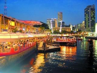 新加坡 克拉码头区