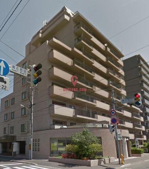 【北海道】角型房 年回報达8.5% 3房 79.36平方米