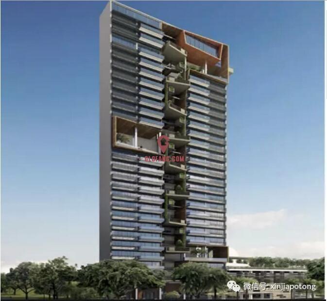 新加坡近诺维娜永久地契高档项目,优质地段,1房108.4万起