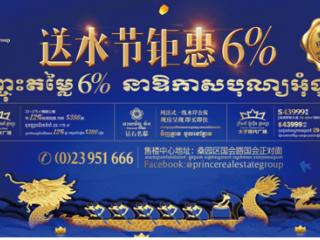 三盘同庆送水节 柬埔寨太子地产集团购房享钜惠