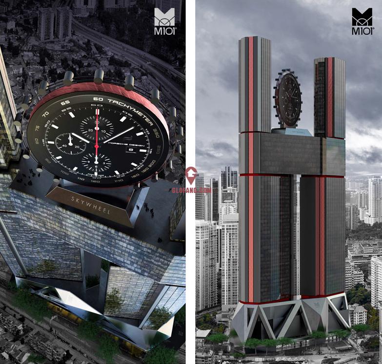 M101全球第一高 吉隆坡摩天轮新地标 时尚精品完美结合