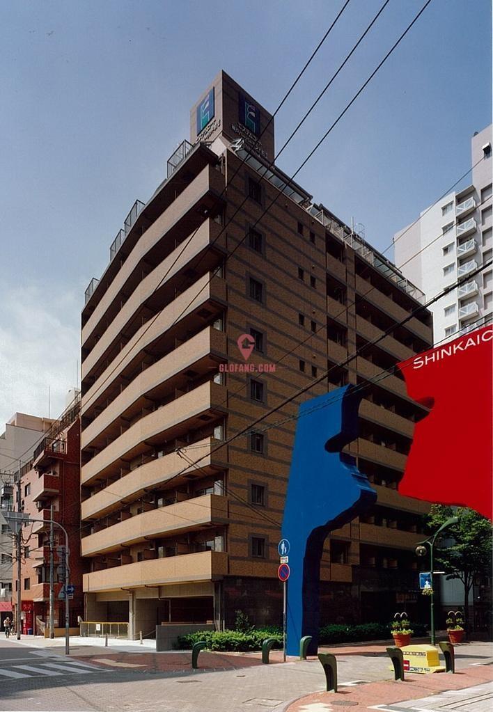 神户新開地一房公寓