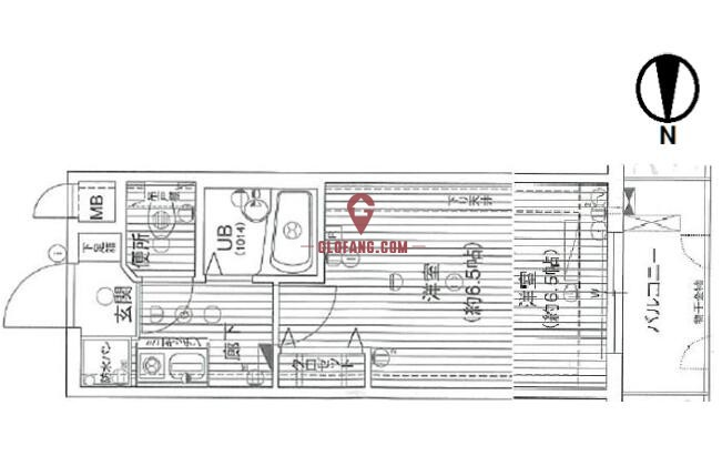 京都中京区高级单身公寓_日本房产信息_日本主要城市