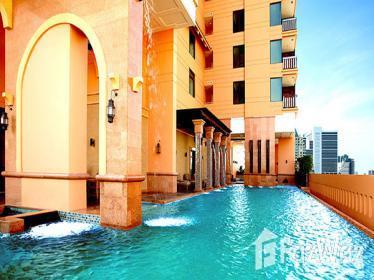 曼谷城市景观的Khlong Toei 1卧室公寓出售,编号11689