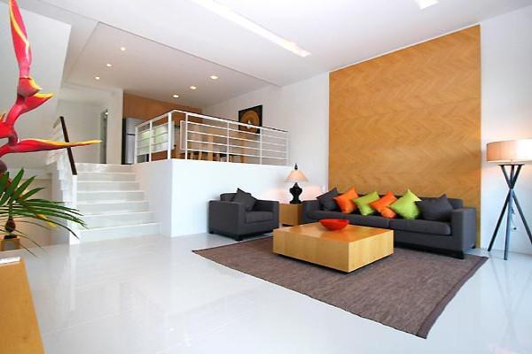 2卧室公寓在Choeng Mon,苏梅岛与游泳池,花园景观