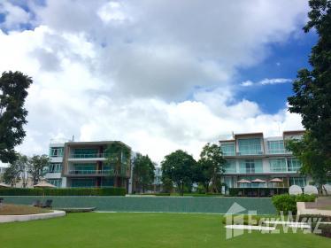 2床公寓出售和租在考陶,泰国华欣与花园,游泳池,部分海景,编号11870