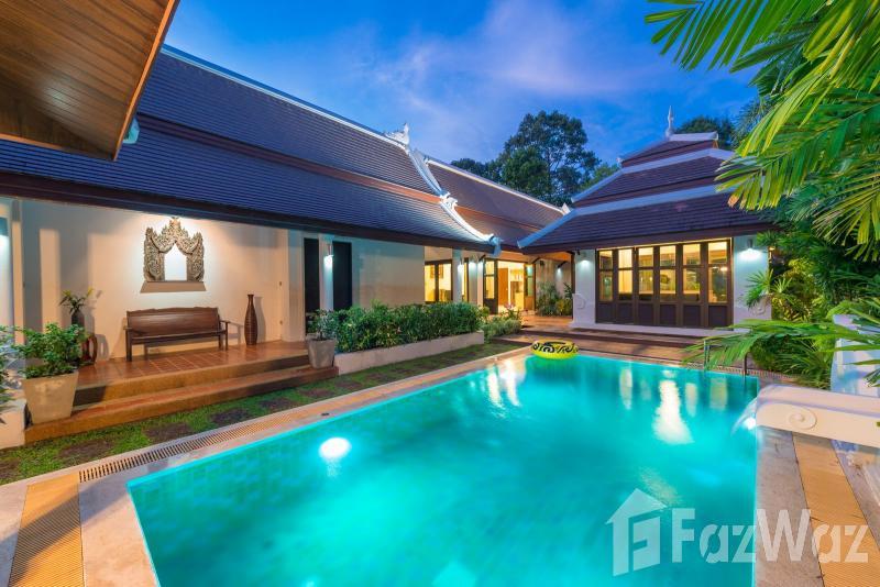 3卧室别墅出售在Bang Kao,苏梅岛与花园,池景