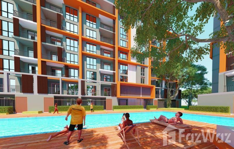 华欣海滩,华欣与城市,绿色景观1床公寓出售