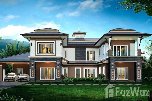 5卧室别墅出售杭东,清迈花园,池景