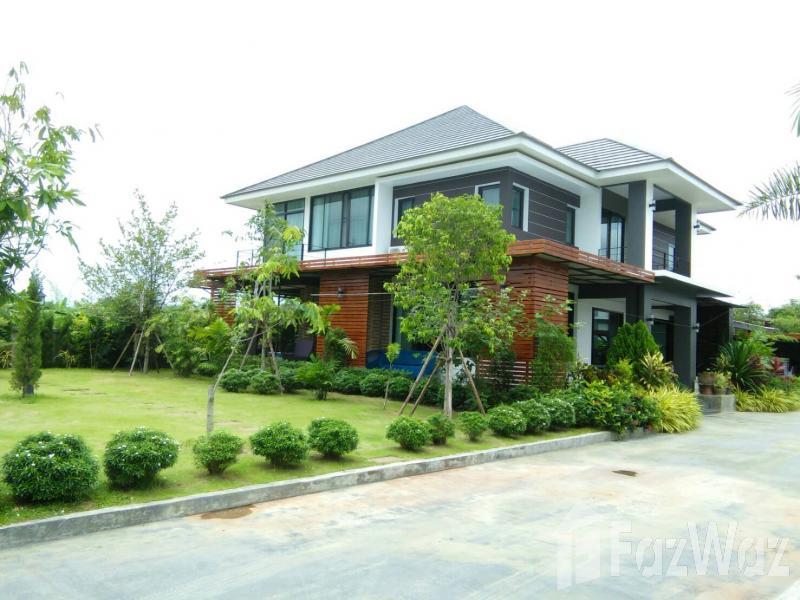 清迈Mueang Chiang Mai,清迈花园景观的7床住宅