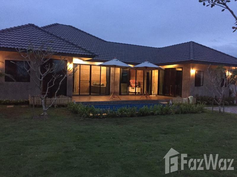 3房屋出售杭东,清迈,花园,游泳池,绿色景观