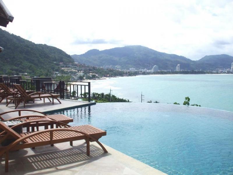 6床别墅出售Kalim,普吉岛与花园,山,海景
