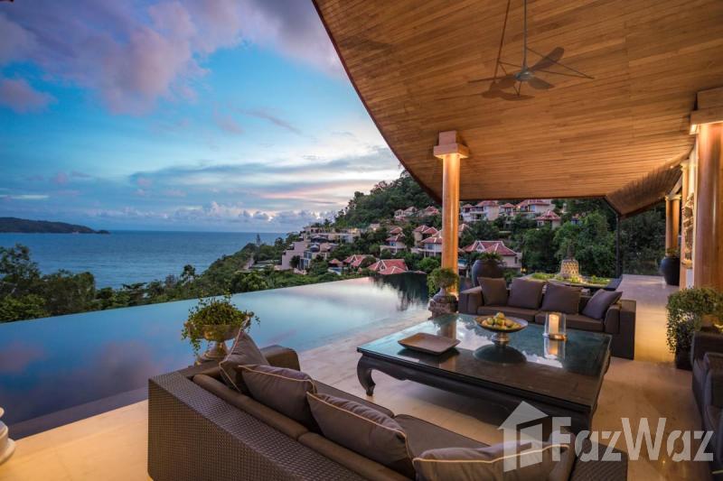 4床别墅出售和租金在Kalim,普吉岛与山,游泳池,海景