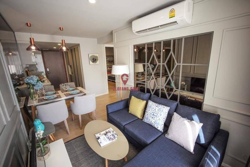 曼谷·Suan Bua Residence·一房一卫,编号13193