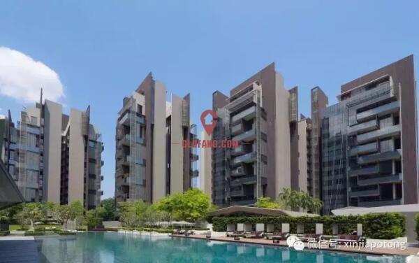 高档公寓:完美的别墅居住体验+完善的公寓配套设施