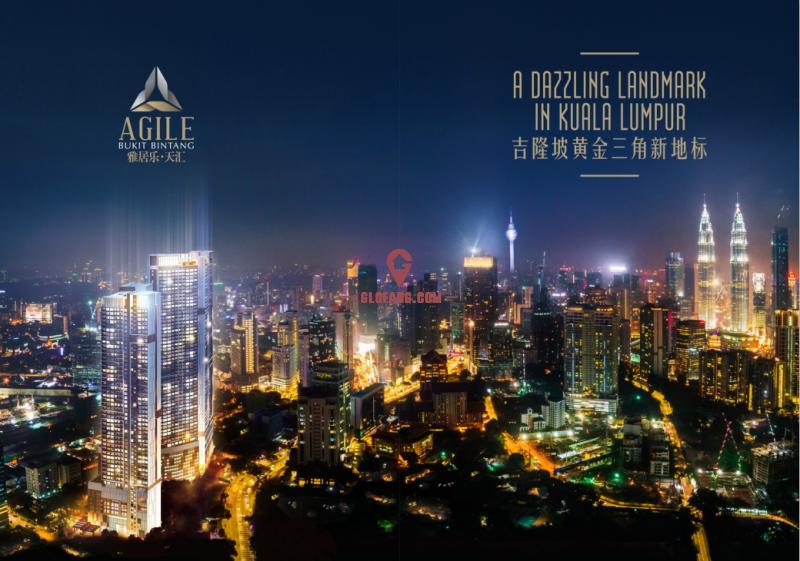吉隆坡雅居乐·天汇!金三角地段