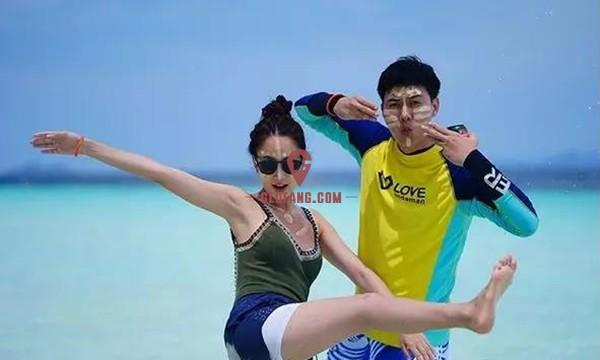 泰国当红女星Taew和圈外男友海边度假,甜蜜撒狗粮7.jpg