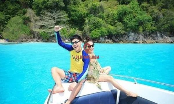 泰国当红女星Taew和圈外男友海边度假,甜蜜撒狗粮5.jpg
