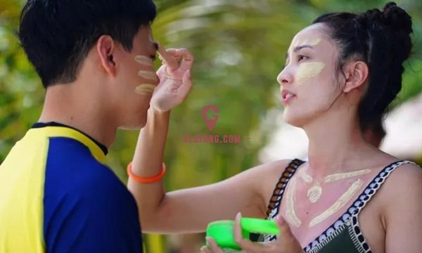 泰国当红女星Taew和圈外男友海边度假,甜蜜撒狗粮1.jpg
