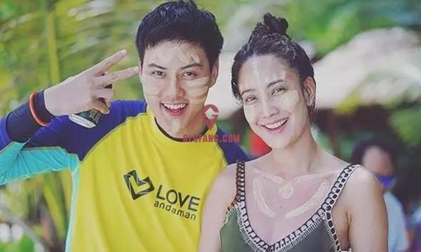 泰国当红女星Taew和圈外男友海边度假,甜蜜撒狗粮14.jpg