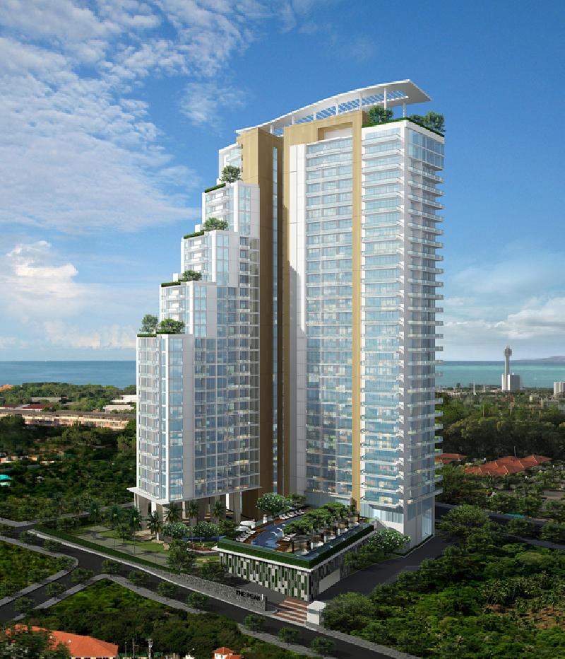 该项目与具有良好基础设施的地区别致的酒店相媲美。 Pratumnak