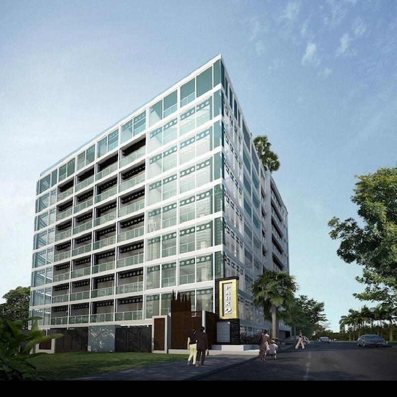 公寓在一个着名地区的现代公寓出售