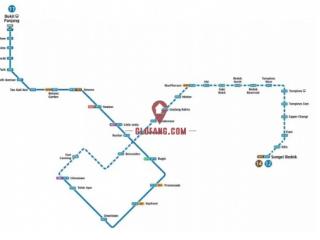 新加坡地铁蓝线全线开通了  你坐过吗