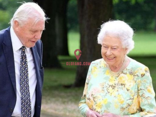英女王拍纪录片被飞机打断 随即开涮:就像特朗普