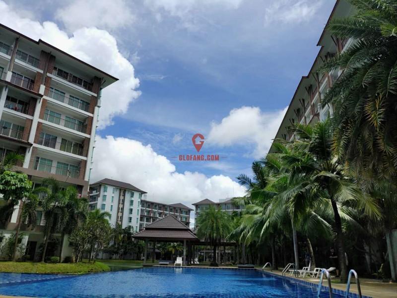 芭提雅 邦萨瑞投资型度假公寓 现房包租10年租金收益6-8%