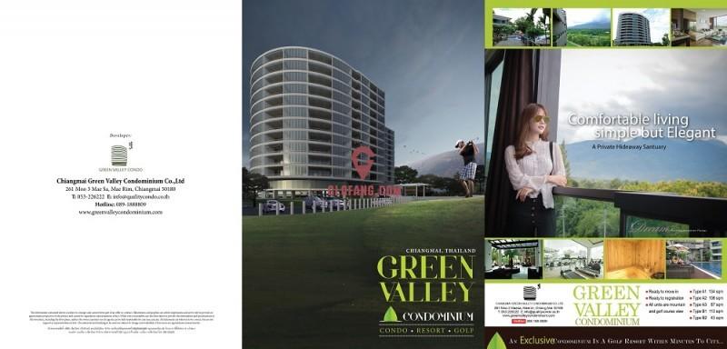 清迈唯一高尔夫公寓 健康的生活方式 包租10年年收益6%