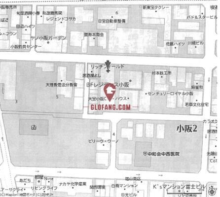 東大阪市小阪2丁目 1栋公寓