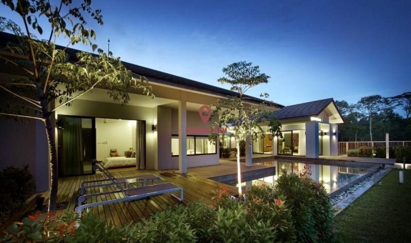 低密度的 别墅 住宅区 休闲农场 度假屋
