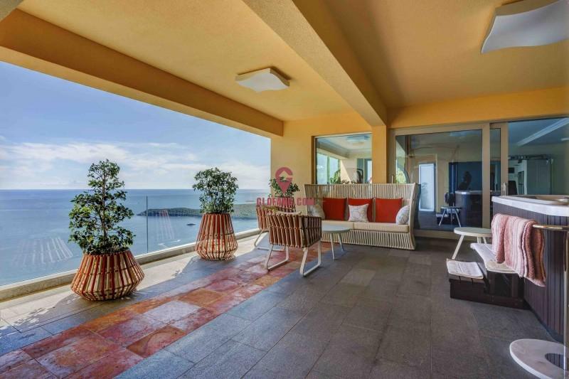 黑山高端海景度假养生别墅,带全套高端家具,个人产权可继承,编号16471