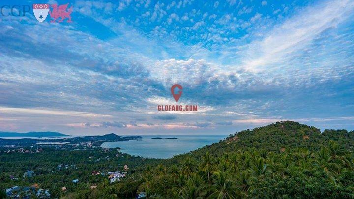 超值!两卧室私人泳池海景别墅靠近Bang Rak海滩