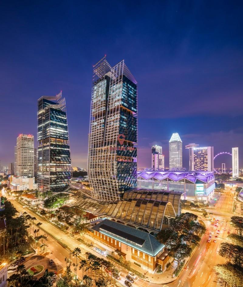 新加坡风华南岸府 [滨海中心/政府大厦] 综合公寓