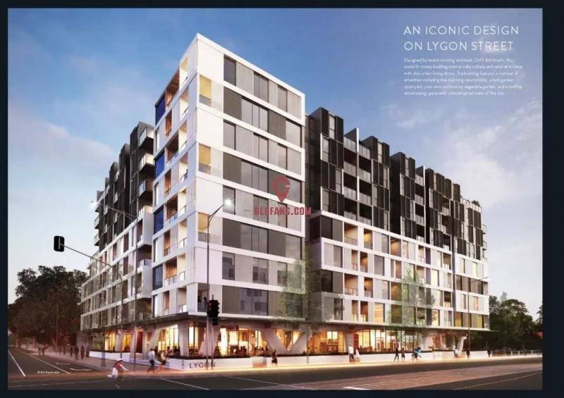 【澳洲金鼎】8 Lygon学区公寓 首付$4.1万起,编号17801