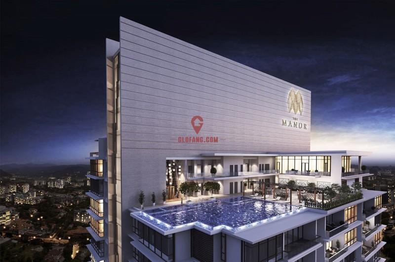 吉隆坡金三角地段,安邦大使馆区 户型方正 大马金豪