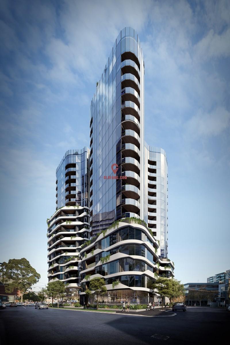 【澳洲金鼎】OASIS高端公寓:南墨尔本·精致生活甄选,编号18180