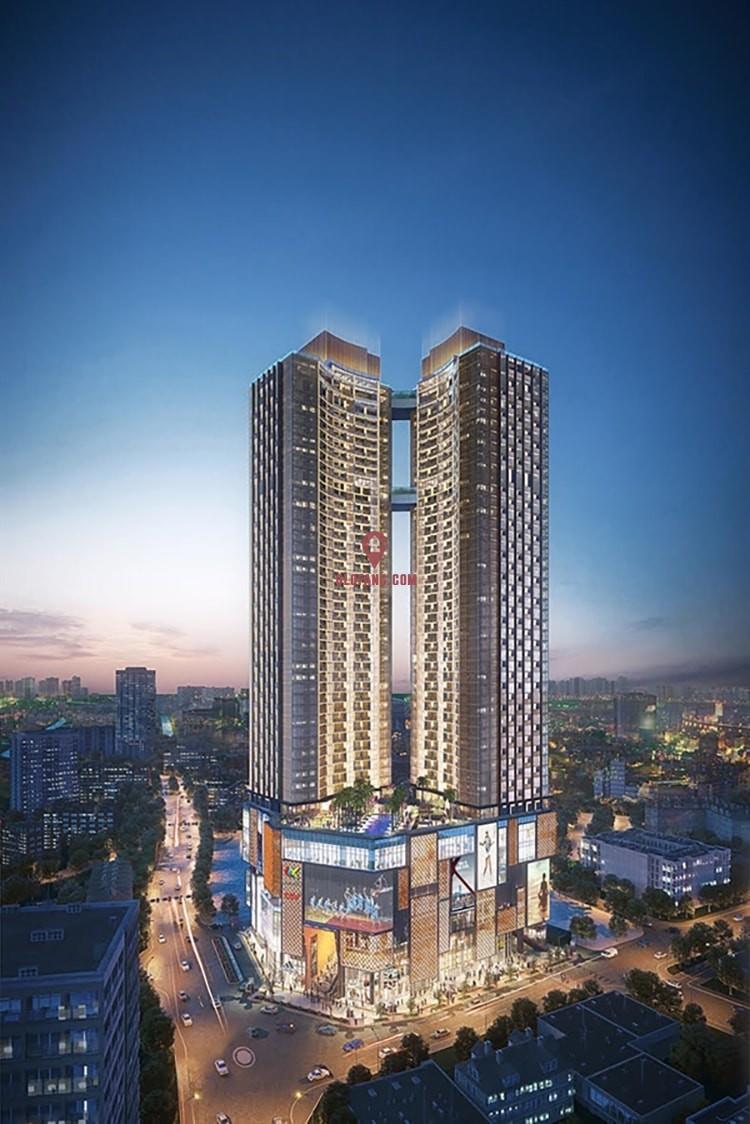 胡志明市中心的豪华公寓 ALPHA HILL